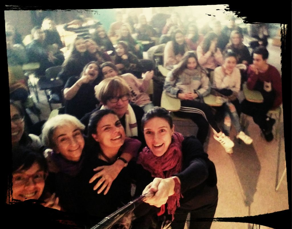 Selfie with the audience!